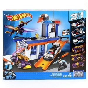 Hot Wheels - Mega Bloks - Break-Out Station Playset